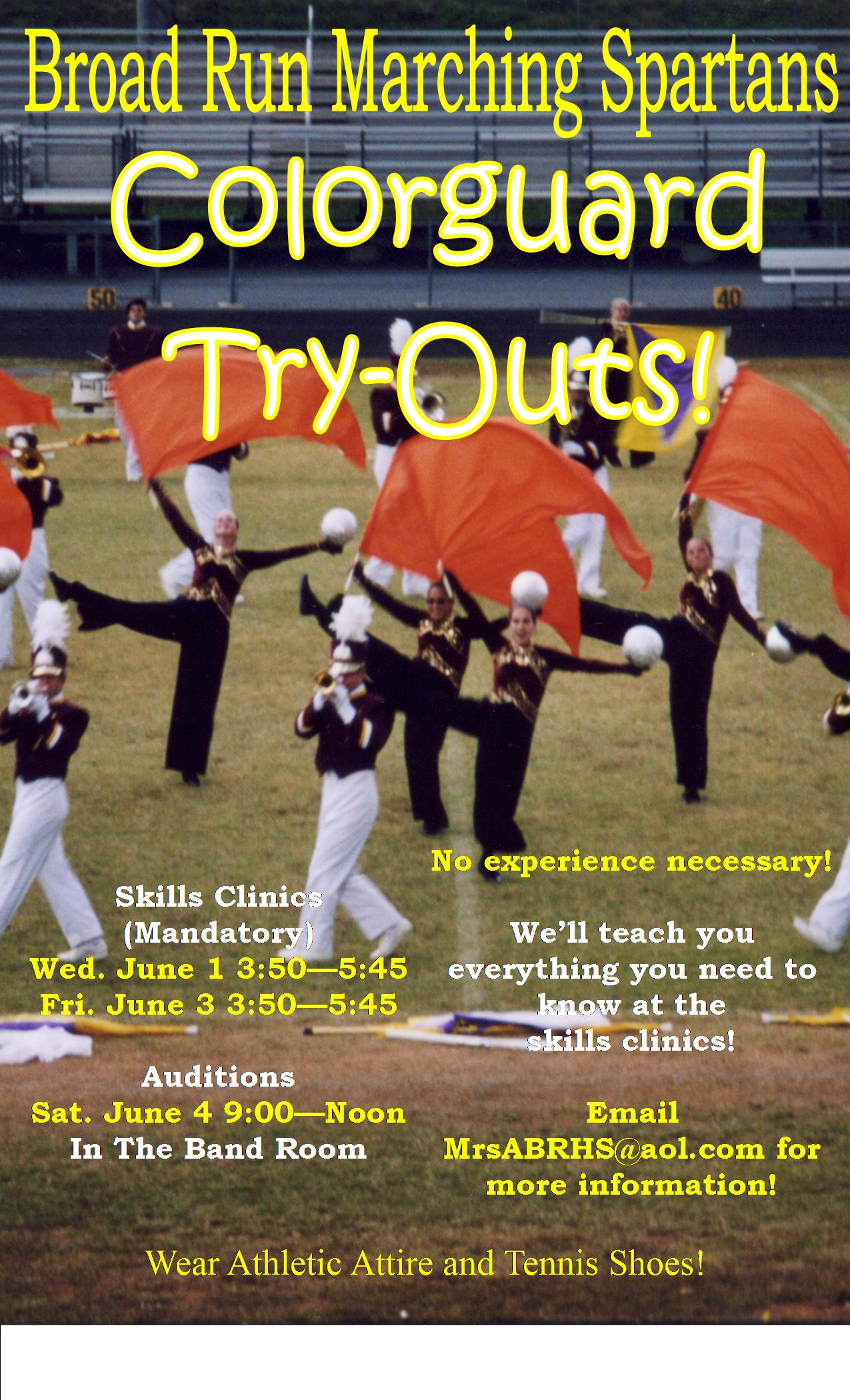 Articles about color guard - Tommy Poster